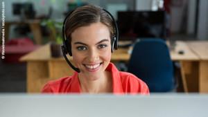 Mitarbeiter-Telefonvorverkauf
